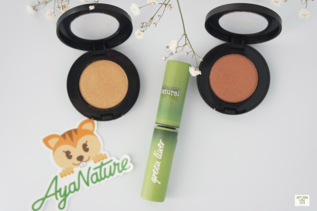 Maquillage green : NABLA et Bohogreen (by Ayanature)