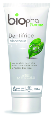 dentifrice biopha nature dentifrice bio