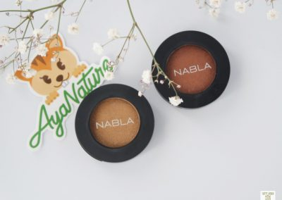 fards à paupières nabla cosmetics ayanature